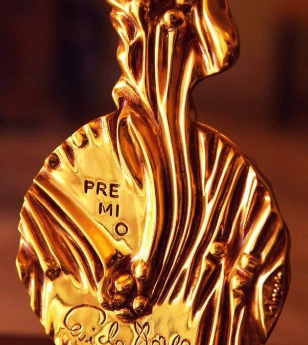 Una scultura di Giuseppe Pirozzi simbolo del Premio Guido Dorso