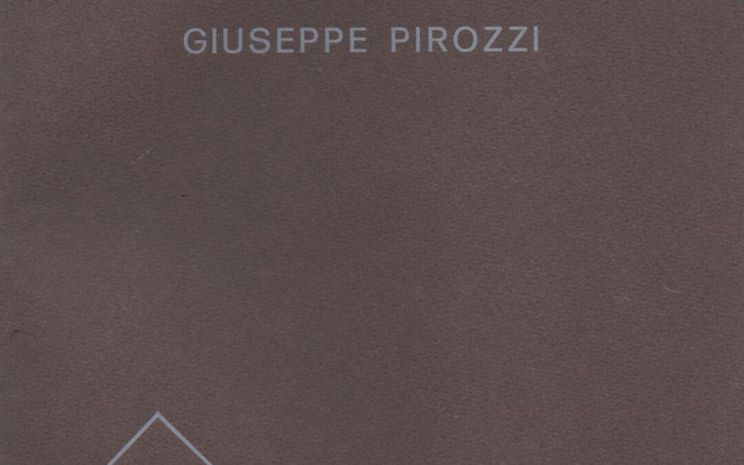 Giuseppe Pirozzi alla galleria Lo Spazio, Brescia 1979