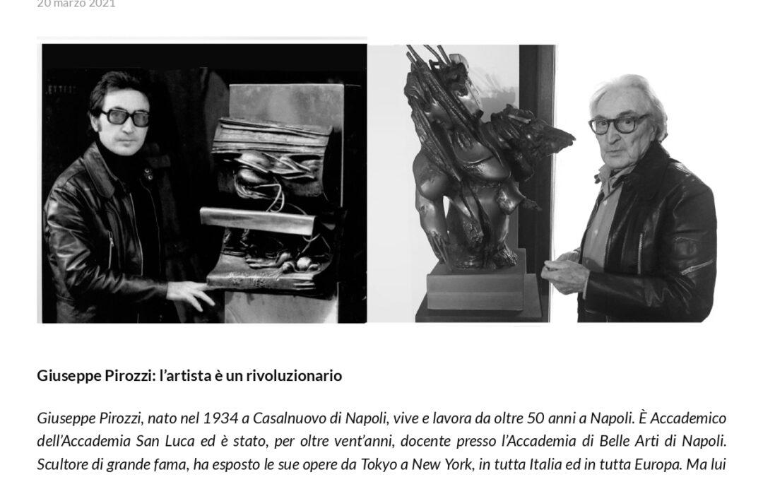D. Sepe. L'artista è un rivoluzionario
